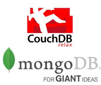 Mongodb-couch-db-logos