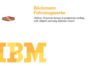 IBM Customer Case Study - Bockmann