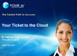 your ticket to the cloud