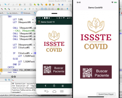 4js logo Low-Code No-Code Development Platform Covid 19